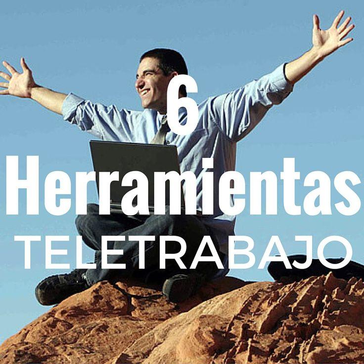 6 Herramientas para el Teletrabajo
