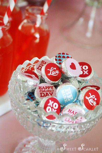 Valentine's Day Hershey's Kisses