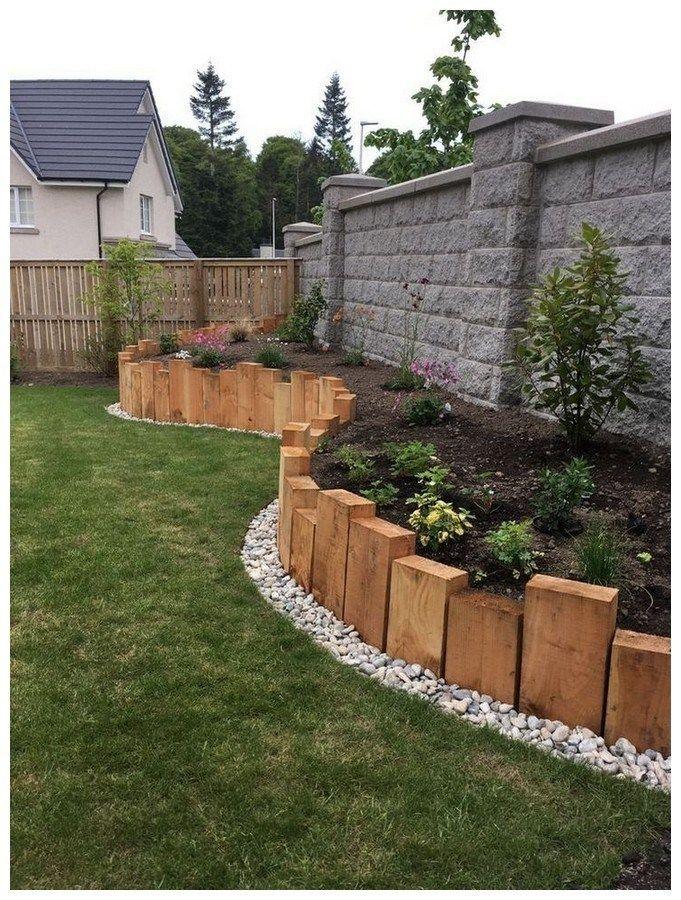 45 Stunning Front Yard Rock Garden Landscaping Ideas 19 Backyard Landscaping Designs Backyard Garden Design Backyard