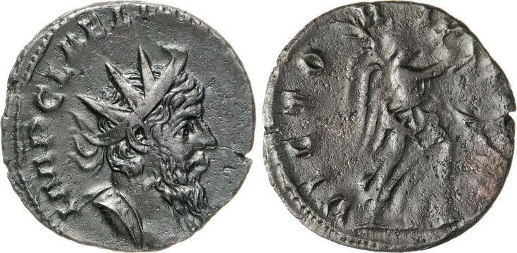 NumisBids: Numismatica Varesi s.a.s. Auction 65, Lot 260 : LELIANO (268) Antoniniano. D/ Busto radiato R/ La Vittoria con...