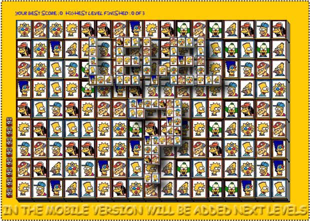 Tiles of The Simpsons as mobile app   Indiegogo PREVIEW DESKTOP VERSION - NEXT LEVEL