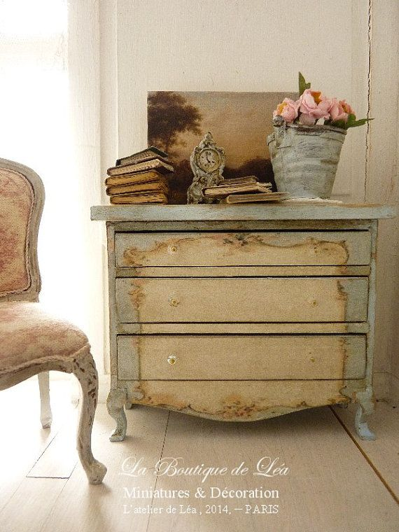 french nursery furniture. perfect nursery romantic chest of drawers sky blue and white aged colors nursery  furniture for a french dollhouse in scale wooden three intended nursery e