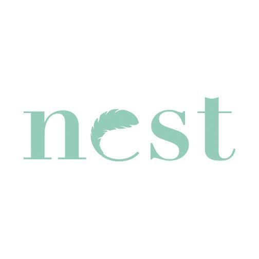 Nest Wordmark by Tess Belke. Elegant, sophisticated, simple, gorgeous.  love love LOVE!!