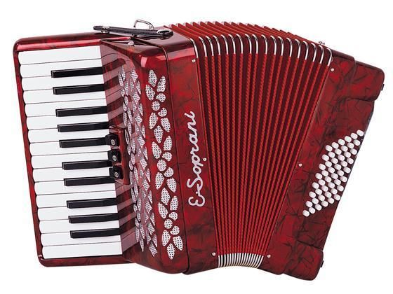 Paolo Soprani Accordions Scandalli Accordions from Italy