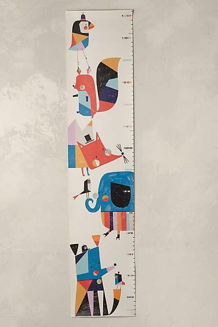 Colourful Creatures Height Chart - anthropologie.eu