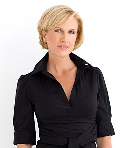 Mika Brzezinski MSNBC  Beautiful and what a last name!  I love waking up with her (and Joe, Willie & c.)