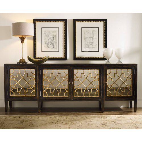 Hooker Furniture Sanctuary Mirrored Console Table