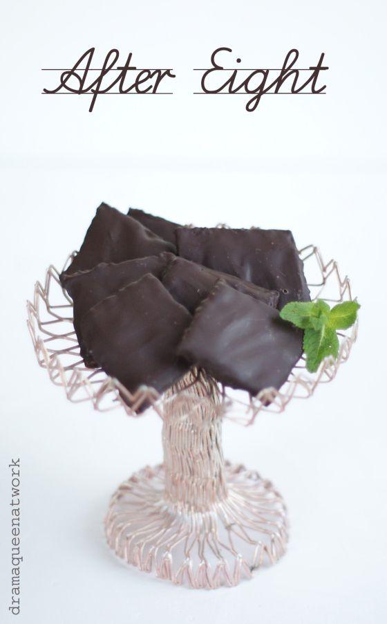 Schokoladen-Pfefferminztaler