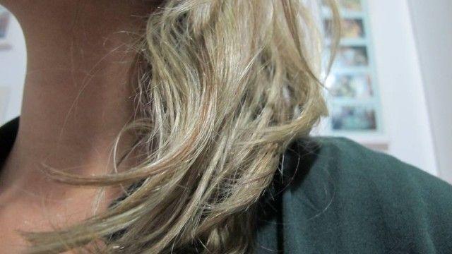 Tirar o verde do cabelo (cloro piscina).
