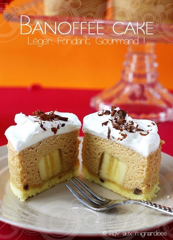 Banoffee Cake (Entremet façon Banoffee)