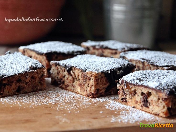 TRANCI GLASSATI AL RUM CON MANDORLE E NOCCIOLE  #ricette #food #recipes