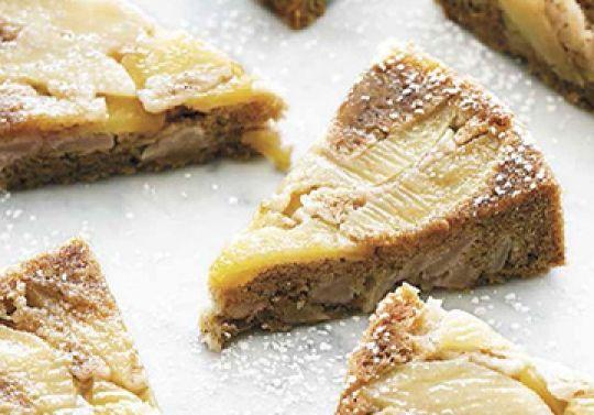 Italian Apple Cake from Chloe's Vegan Italian Kitchen Cook book!