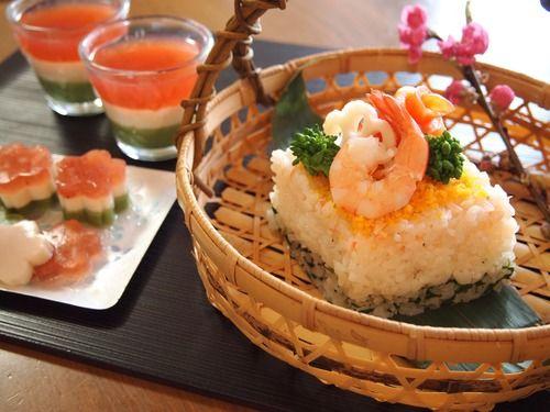 ひな祭り寿司
