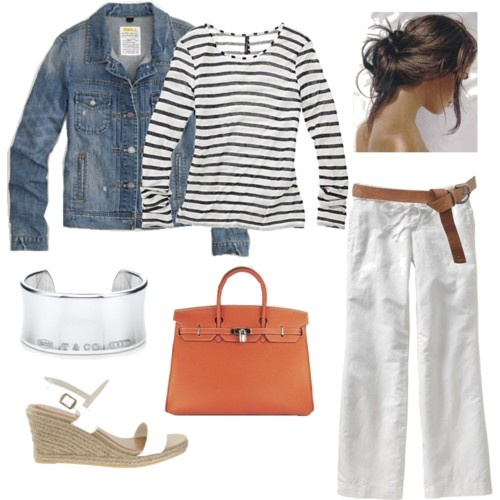 summerSummer Outfit, Jeans Jackets, Casual Outfit For Spring Plus, Cute Summer Casual Outfit, At The Beach, White Pants, Spring Summe, Spring Outfit, Springy Outfit