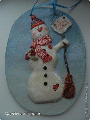 Снеговики и подковы...