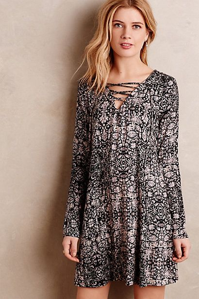 $198.00 / rayon Marsilia Swing Dress #anthropologie 2015