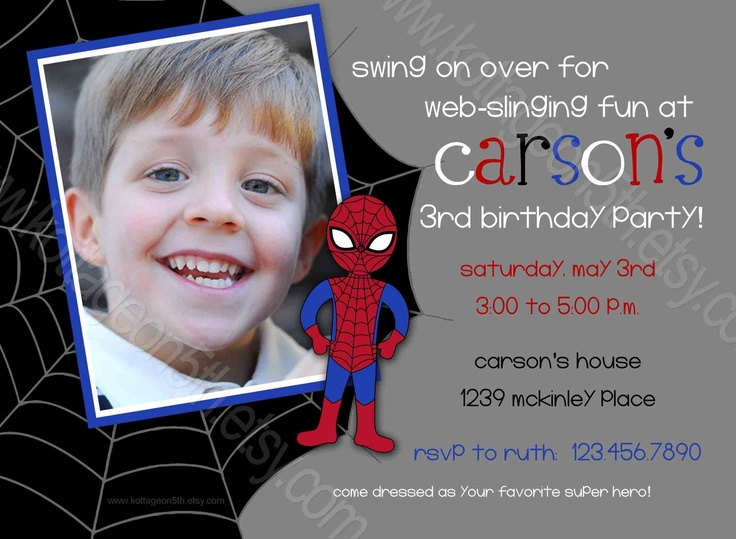 7th Birthday Party Invitations amp Announcements  Zazzlecouk