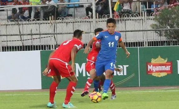 I am really happy that India have climbed up in FIFA rankings: Sunil Chhetri