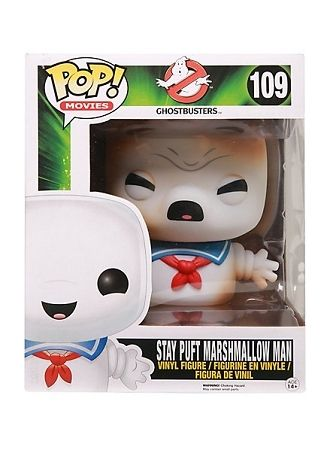 Pop Vinyl toasted Stay Puft Marshmallow Man (Ghostbusters)