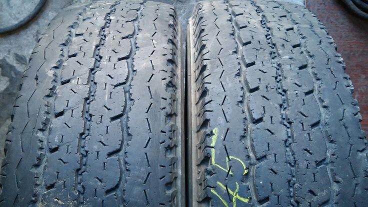 Шины б/у из Европы Лето Bridgestone Duravis 195/75R16 C 2 штуки.