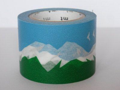 washi masking tape . snowy mountain ++ mt tape