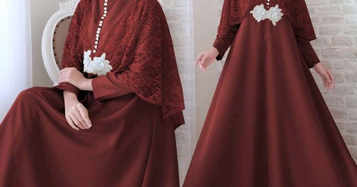 21 Trend Populer Model Baju Gamis Terbaru 2021 Wanita Berhijab Gaun Formal Panjang Model Pakaian Wanita