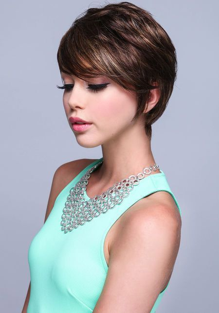Charming Pixie Cut. A perfect growing out cut.