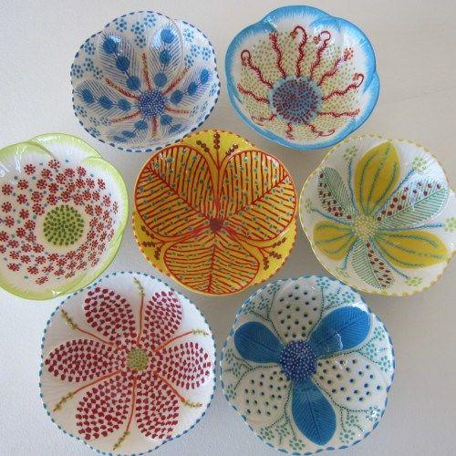 Curso de Cerâmica. (Gostei de alguns padrões, é o modelo parece que não é tão fechado e alto igual ao bowl)