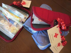 Teacher Emergency Kit-- back to school giveaway ends 8/4/13. Enter to win a survival kit for your teacher bag.