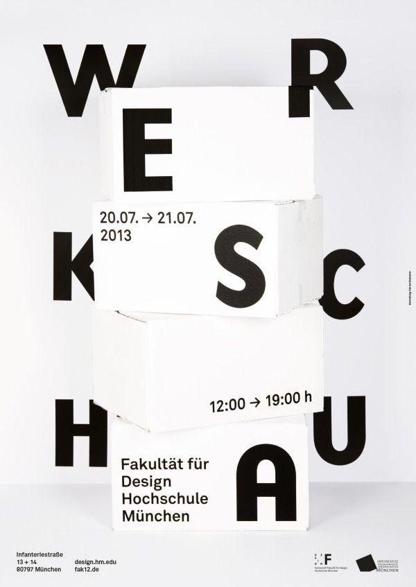 Werkschau Sommersemester 2013 — Hochschule München