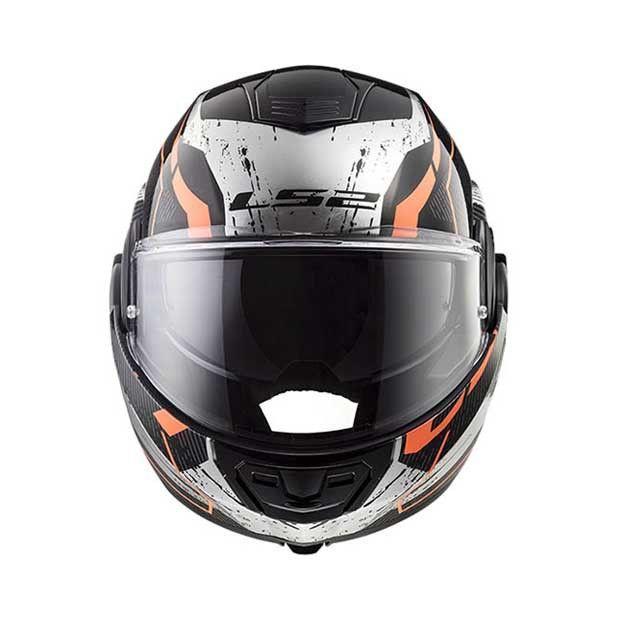 Ls2 Valiant Roboto Schwarz Orange Chrome Www Helmade Com Schwarz O T O