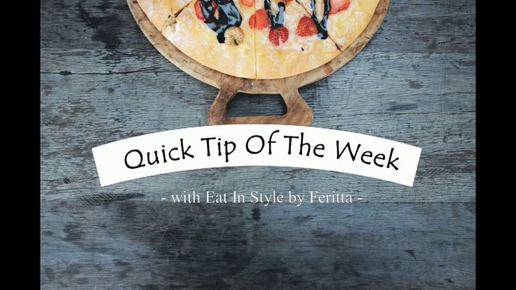 Clean Your Freezer - Quick Tip of the Week - Eat In Style by Feritta