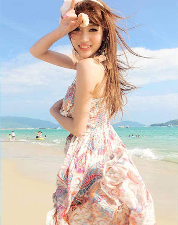 MISSFOX® フェミニン シフォン 特別価格 レディース キャミ 全2カラー ■商品説明■  シフォン使用で夏に涼しいく、ハイウエスなので体を長く見える。大きな裾は女神の雰囲気が漂う。大ぶりな花柄なので、甘すぎず、女らしさ溢れる。 http://www.cithy.jp/missfox-feminine-chiffon-women-one-piece-dress-2colors-w9520493a.html
