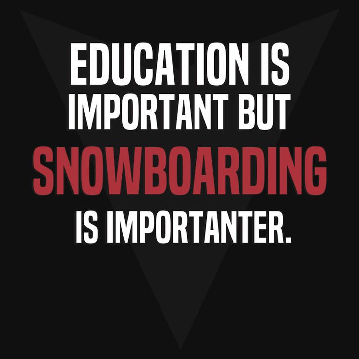Snowboarding humour