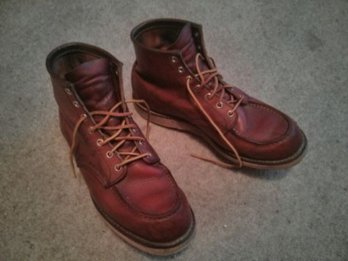 RED WING BOOTS, the perfect colour boot! - Red Wing Toe Boots Uk 9106 | eBay