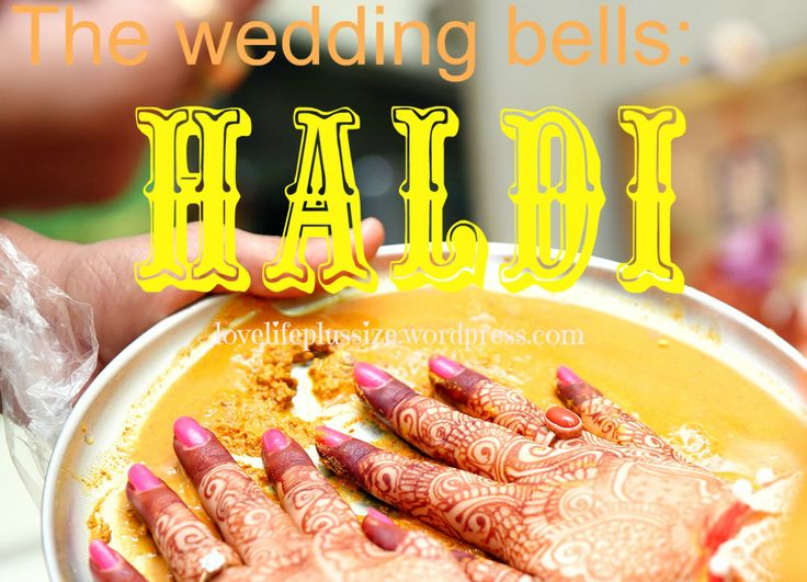 The Wedding Bells Haldi