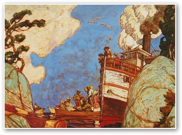 J.E.H. MacDonald The Supply Boat 1916
