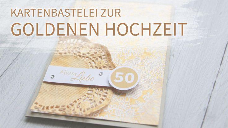Einladungskarten Goldene Hochzeit Selber Machen | Einladungskarten Hochzeit  | Pinterest | Hochzeit