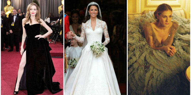 These gowns are almost as famous as the starlets who wore them.