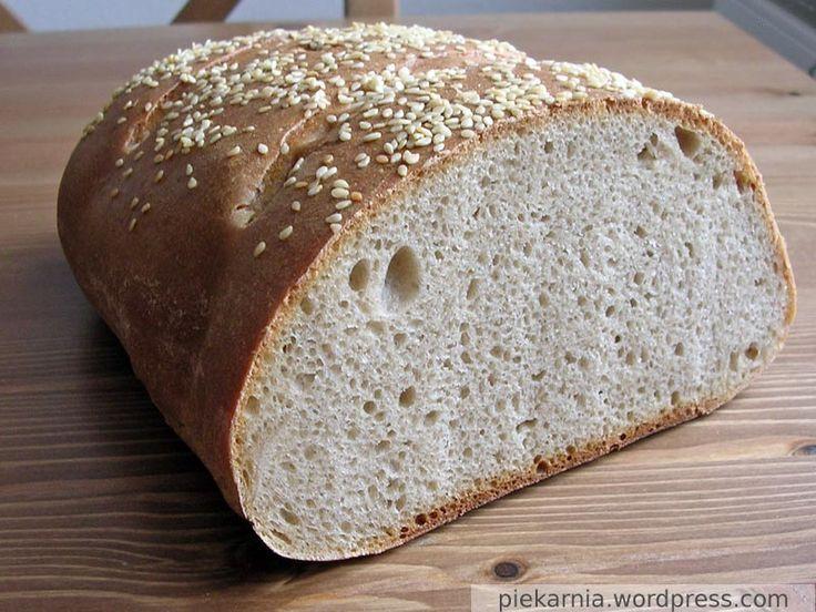 Chleb pszenny – przepis podstawowy | Moja piekarnia