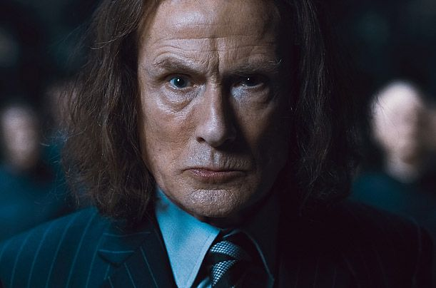 Bill Nighy as Rufus Scrimgeour, 7 and 8   If the Academy handed out an award for Best Overacting, Nighy would win every year. His wild eyes, weirdly drawling elocution and scarecrow body language raise scenery-chewing to an epicurean art. A stalwart of British theater, particularly David Hare plays, he is most warmly remembered by movie audiences for playing the drug-addled rock star Billy Mack in Love Actually. Coming late to supporting-star status (he's 60), Nighy won notoriety in two…