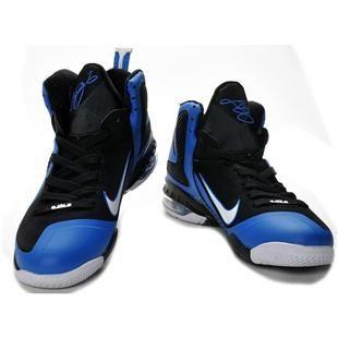Nike Zoom LeBron 9 IX  Black/Blue/White