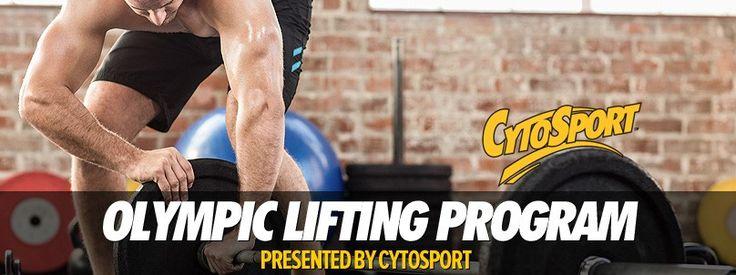 Olympic Lifting Program