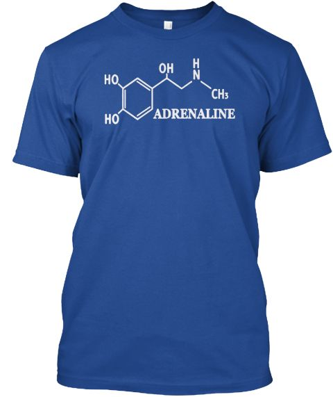Chemical Element, Learn With Me Deep Royal T-Shirt Front