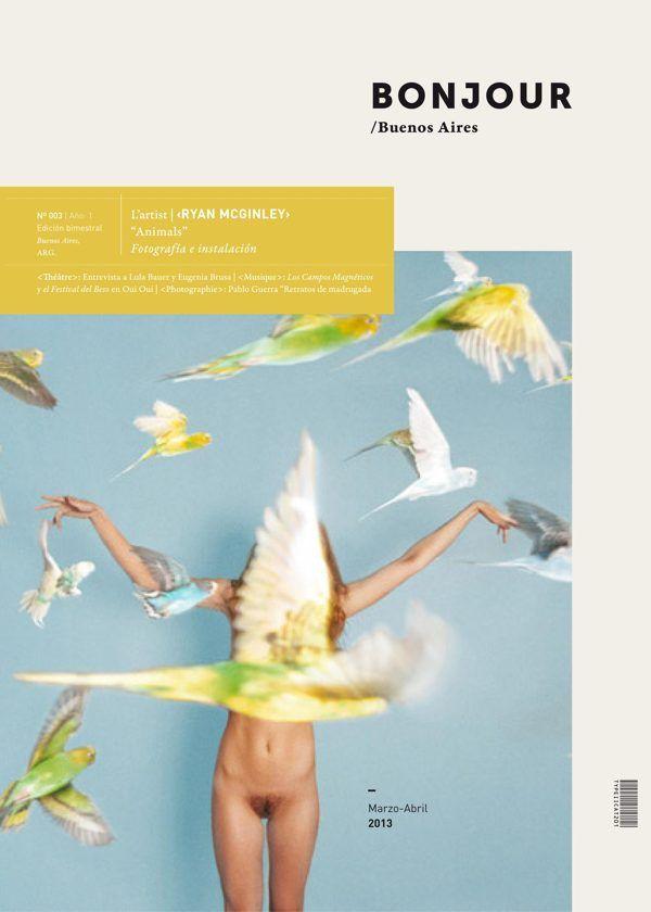 Bonjour | Photo & Art Magazine by Iara Kremer, via Behance