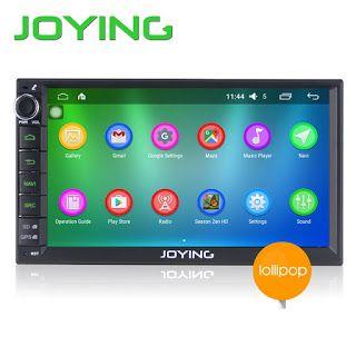Joying 7 Double 2 Din Android 5.1 Lollipop Universal Car Radio Quad Core 1024600 HD Car GPS Navigation Best Head Unit Car PC (32651614664)  SEE MORE  #SuperDeals