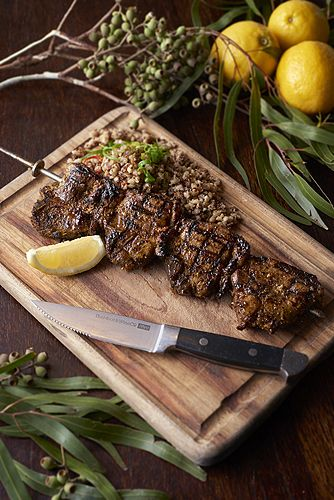 BBQ Lamb Baste with Lemon Myrtle, Mixed Crushed Peppercorns and Fresh Minced…
