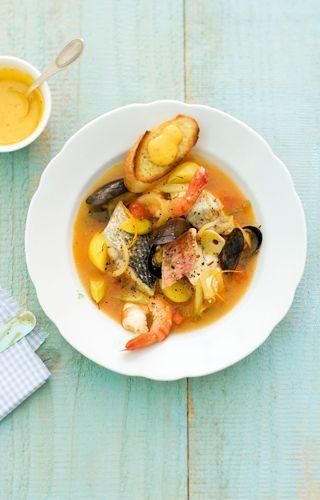 Köstliche Fischsuppe à la Johann Lafer