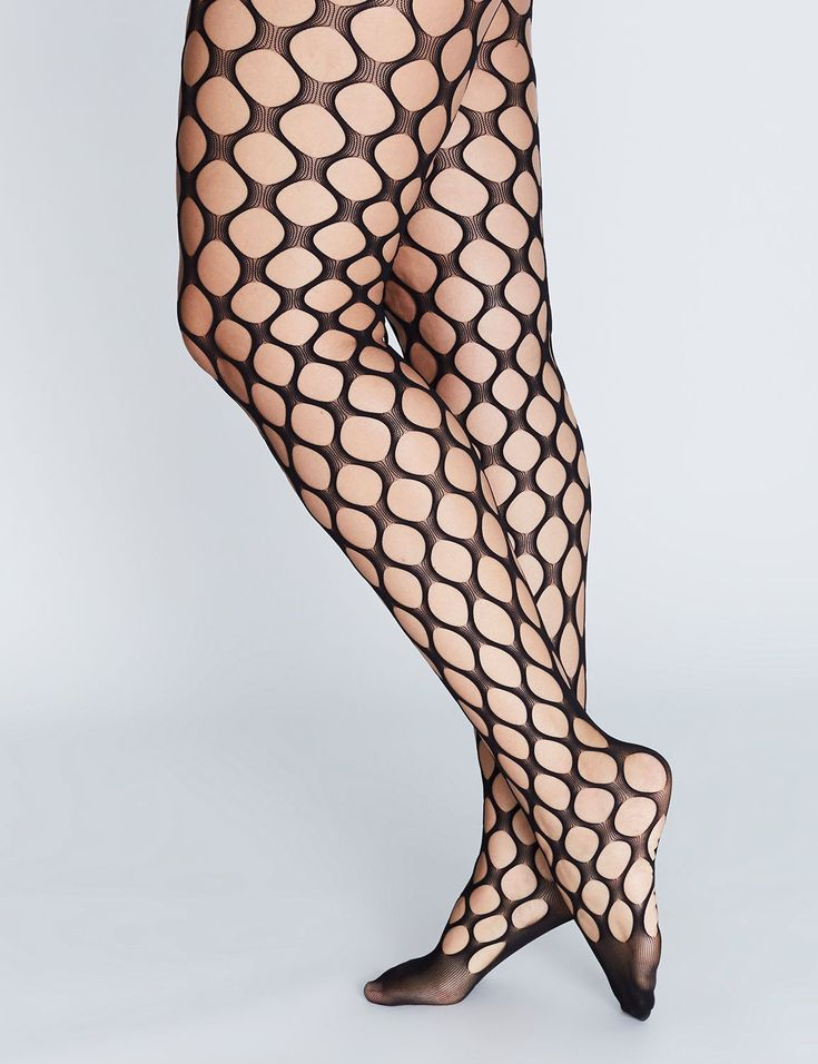 Open-Weave Tights