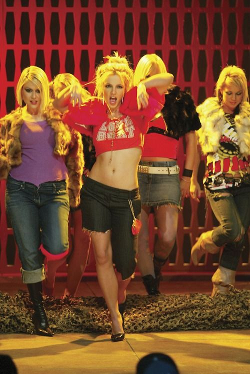 Britney Spears, Do Somethin'. I remember watching this music video for the first time as a kid and wondering what the hell had happened to her haha.